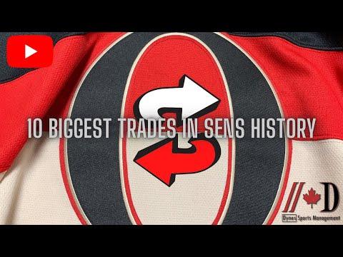 The 10 BIGGEST Trades in Ottawa Senators History
