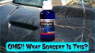 Cquartz UK Hydrophobic Ceramic Nano Coating AMAZING Shine And SHOCKING Water Behavior! ✔️