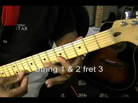 Jimi Hendrix LITTLE WING Style How To Play Rhythm Guitar Chord ...