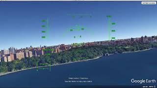 Flying Around New York - Google Earth Flight Simulator