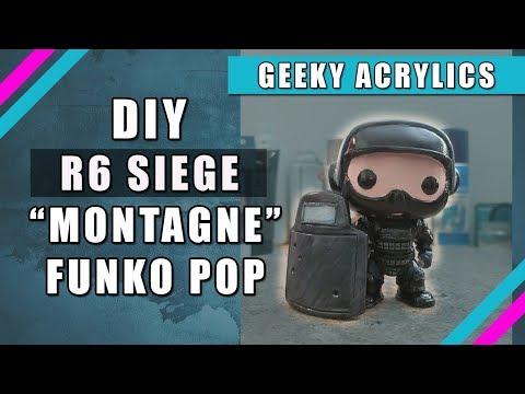 "R6 Siege Custom Funko Pop ""Montagne DIY"""