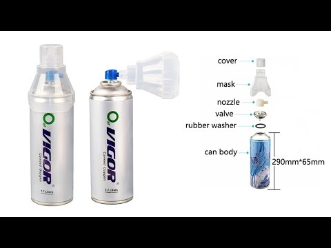 Portable Canned Oxygen Filling Machine 1600D