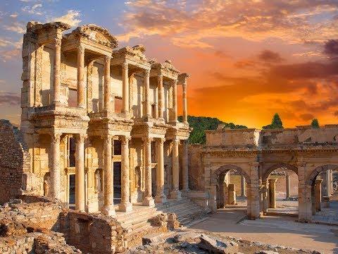 Прогулка в античный ЭФЕС -  древний город в Турции  /  ТУРЦИЯ ИЗМИР