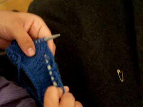 Apprendre a tricoter rattraper une maille - Apprendre a monter des mailles ...
