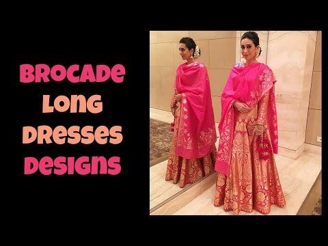 Brocade Long Dresses