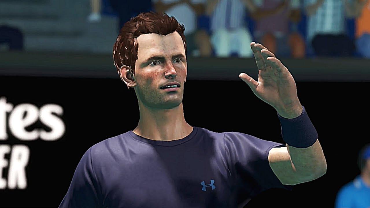 Novak Djokovic Vs Andy Murray Australian Open 2015 Ao Tennis 2 Gameplay Youtube