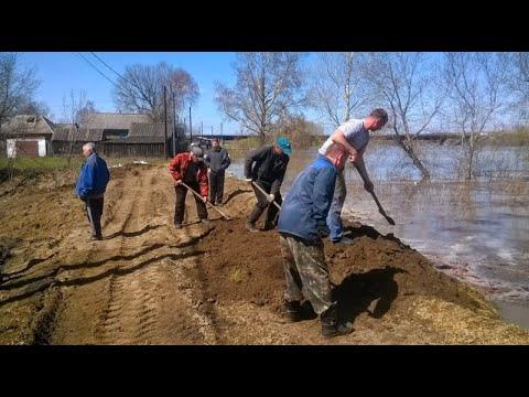 В Алтайском крае сохраняется критическая паводковая ситуация
