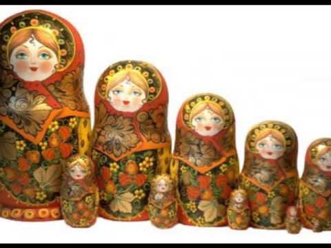 русские матрешечки