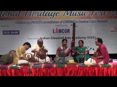 Lavanya Sundararaman l Carnatic Vocal  l Global Heritage Music Fest 2017 l Web Streaming