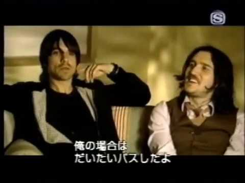"""John Frusciante and Anthony Kiedis interview - """"V"""" channel 2002"""
