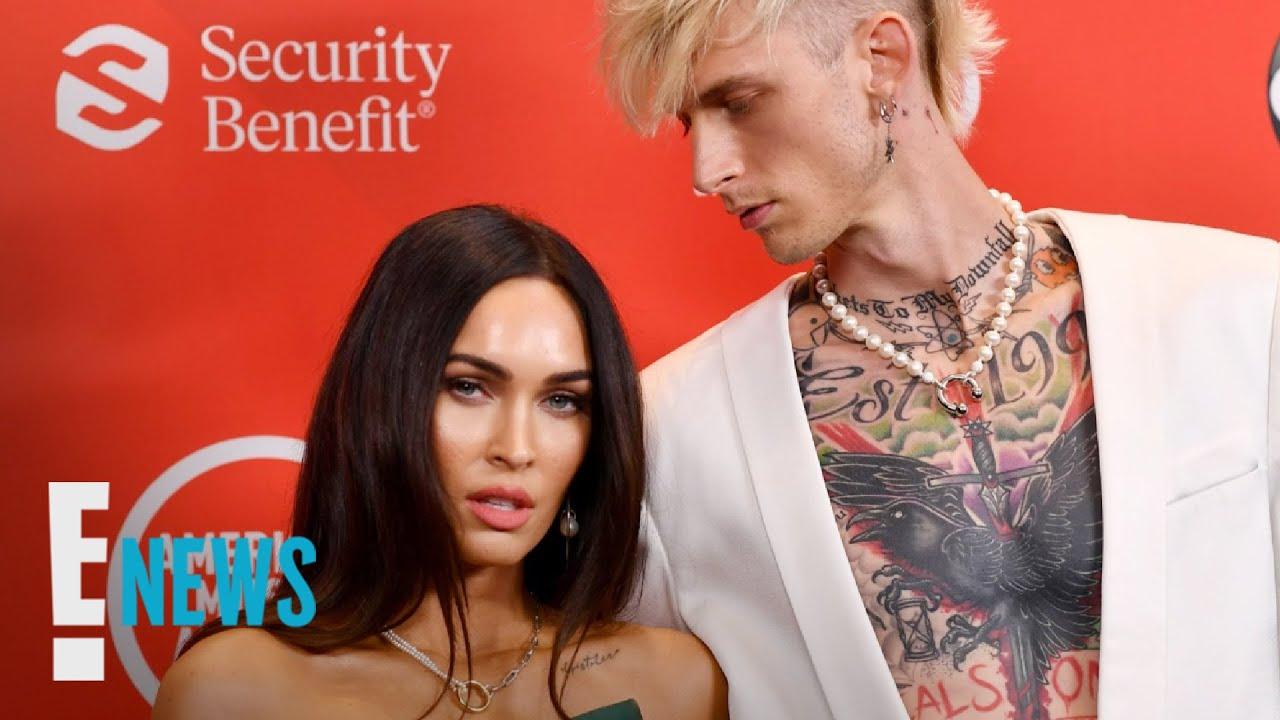 Megan Fox & Machine Gun Kelly Make Red Carpet Debut at 2020 AMAs