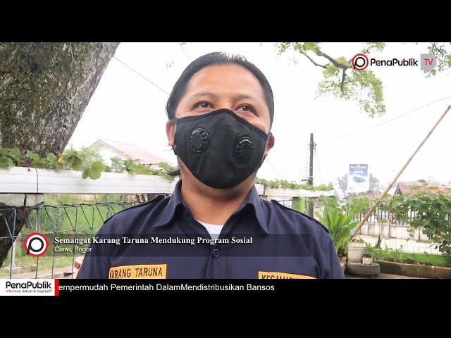 Karang Taruna Kecamatan Ciawi, Terus Mendukung  Kegiatan Sosial