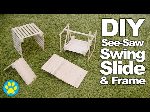 DIY Hamster Playground | #DIYJuly