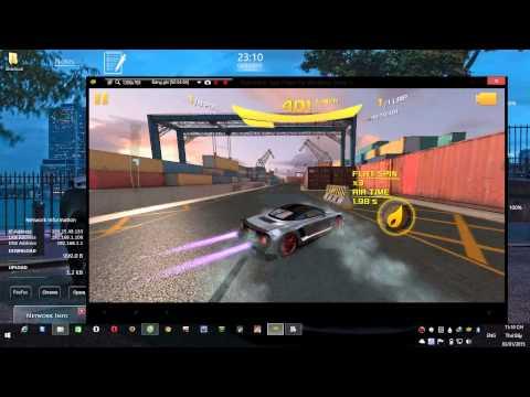 ASPHALT 8 AIRBORNE:Sandiago Habor – 9FF GT9 VMAX – Blutrack (android) 59:134