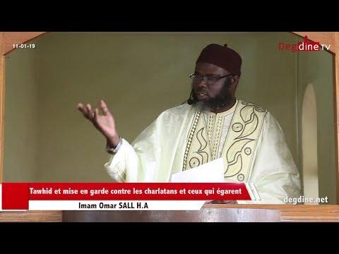 Khoutbah 11 01 19 | Le tawhid : Rempart contre les charlatans et les imposteurs | Imam Omar SALL