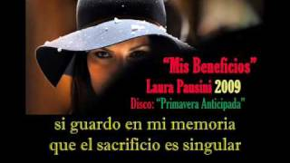 Watch Laura Pausini Mis Beneficios video