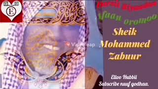 Darsii Riyaadaa sheik Mohamed Zabuur