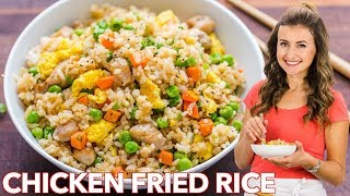 Chicken Fried Rice - EASY DINNER under 30 Minutes