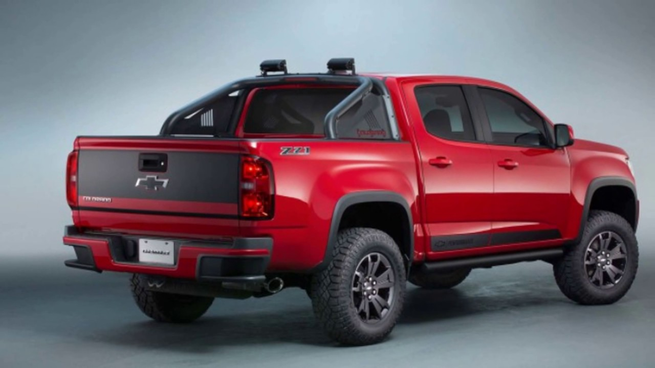 [New 2017] The Chevy Colorado Z71 Trail Boss Release date ...