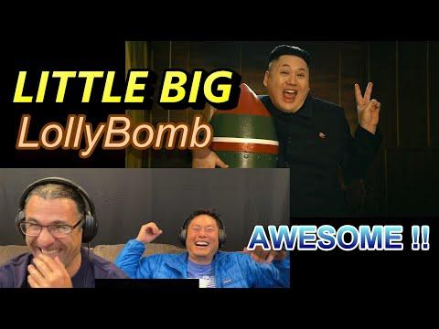 LITTLE BIG - LollyBomb - Reaction