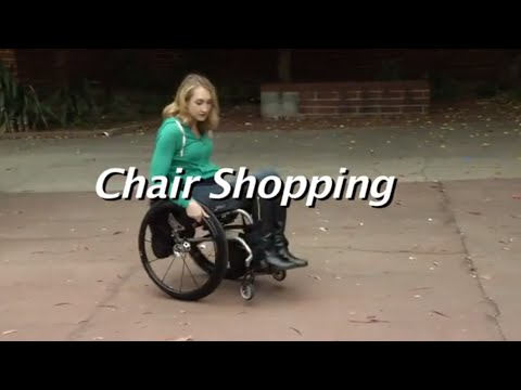 The Manual Wheelchair Comparision:  Chair Shopping
