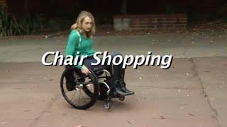 The Manual Wheelchair Comparision:  Chair Shopping