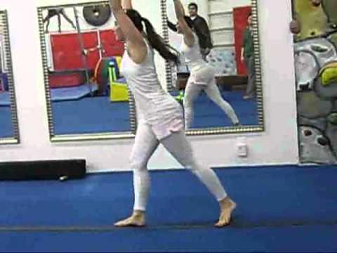 Level 2 Gymnastics Compulsory Routine