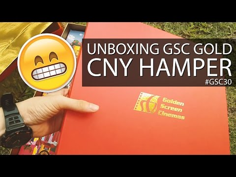 UNBOXING GSC CNY GOLD HAMPER - SO WONG (旺)!! #GSC30