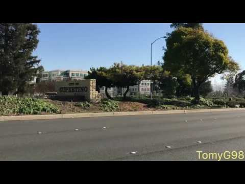 Going to Apple Headquarters, Apple Inc., Cupertino, CA | Plus Apple Campus 2 and Apple Garage