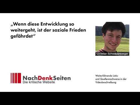 """""""Wenn diese Entwicklung so weitergeht, ist der soziale Frieden gefährdet"""", Christian Schwarzenberger"""