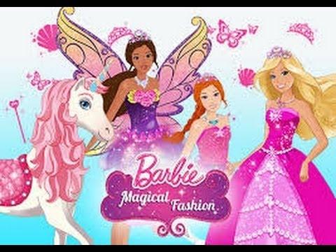 Barbie Magical Fashion Dress Up en Espagnol- Barbie Moda Mágica Moda