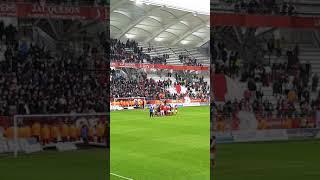 Stade de Reims-Rc Lens 17 mars 2018 énorme communion avec le public !!