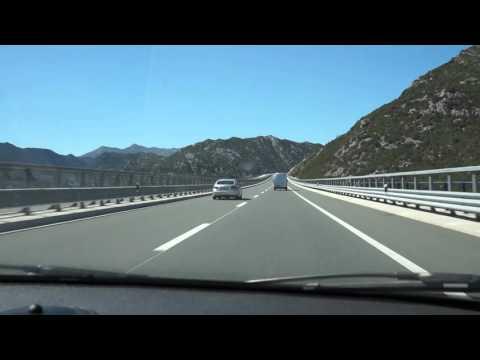 Driving the Highway in Croatia