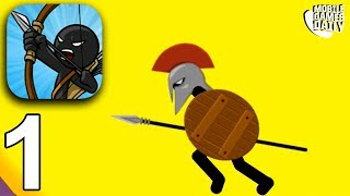 STICK WARS LEGACY - Speartons Levels - Gameplay Walkthrough Part 1 (iOS Android)