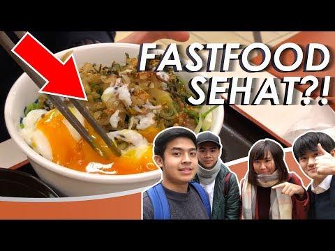 WOW! FASTFOOD SEHAT DI JEPANG! ENAK?!