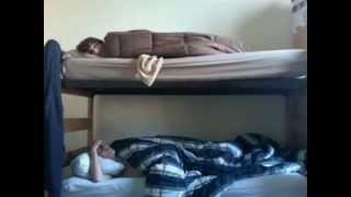 Annoying Brother In Bunk Bed, Hilarious! {must Watch} - Youtube