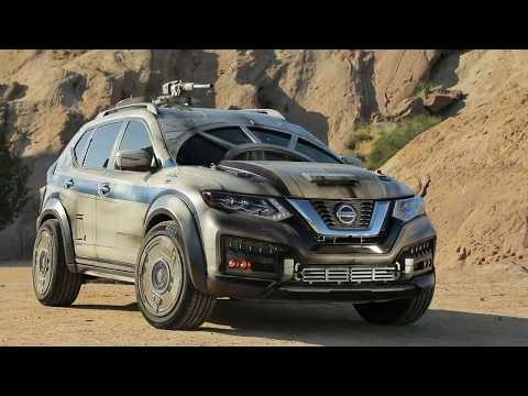 Star Wars Themed NIssan Rogue - Footage