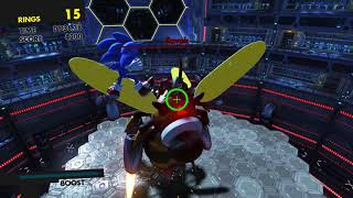Sonic Forces - Stage 5 - Sonic vs. Zavok