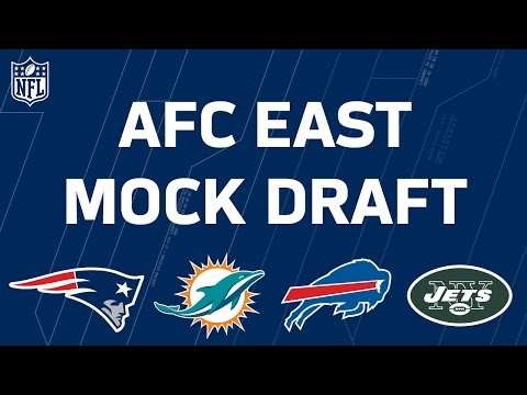 AFC East 2017 NFL Mock Draft | Perfect Pairs | Move the Sticks