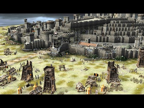 Epic Siege of MINAS TIRITH - Stronghold 2 Steam Edition