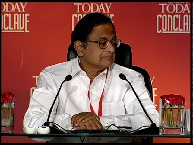 India Today Conclave: Q&A With P. Chidambaram
