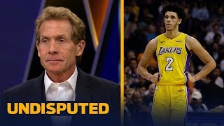 Skip and Shannon react to Lonzo Ball walking away from a scuffle against the Suns | UNDISPUTED thumbnail
