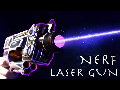 How To Make a NERF LASER GUN!!! INSANE NERF HACK (Super Simple Build)