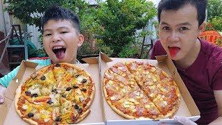 Trò Chơi Bé Ăn Pizza ❤ ChiChi ToysReview TV ❤ Đồ Chơi Trẻ Em Baby Fun