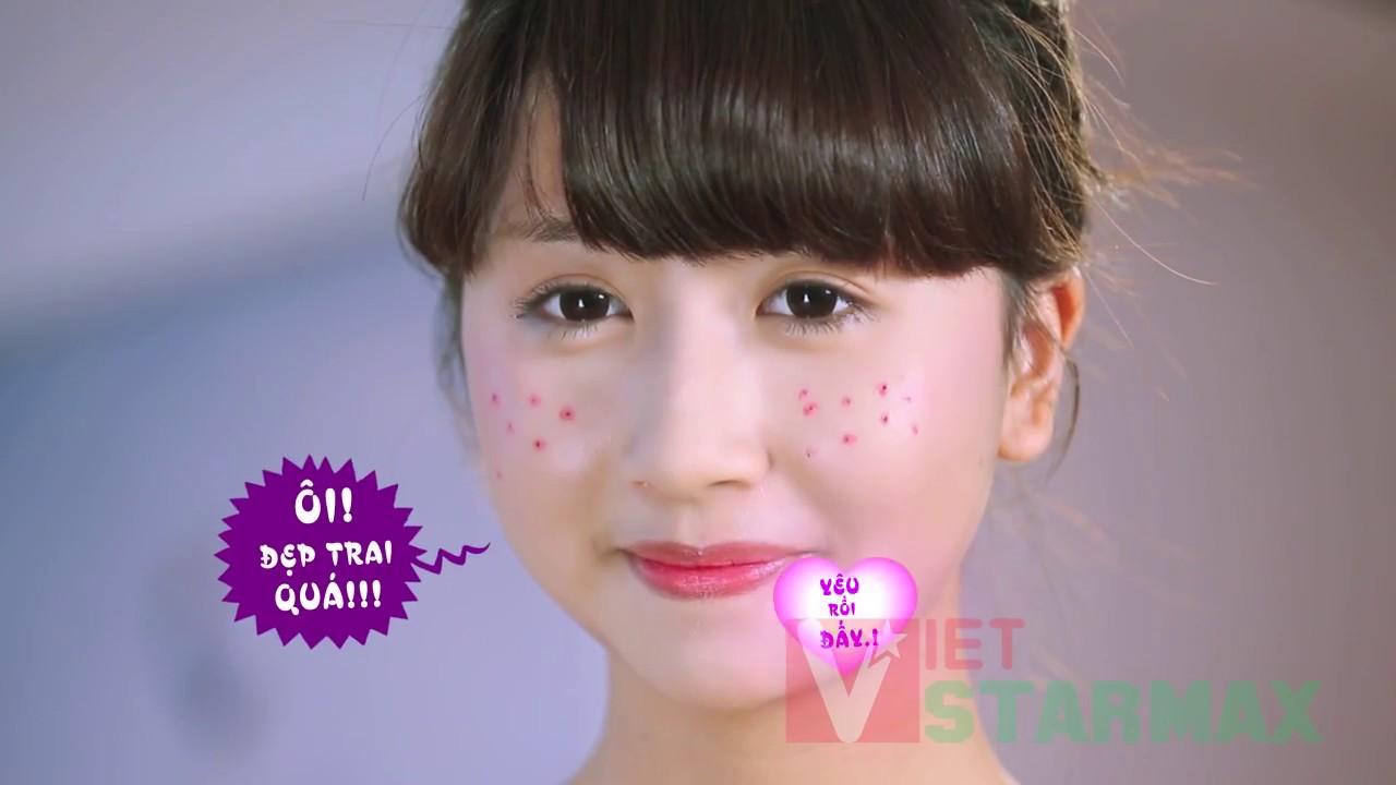 Phim quảng cáo TVC | TVC Kem trị mụn Eliga Mỹ phẩm Bạch liên | Hotgirl Quỳnh Anh