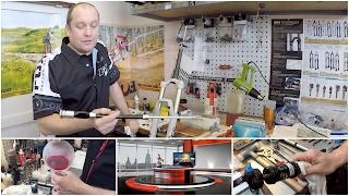 Jak prodloužit životnost odpružených vidlic a tlumičů jízdních kol - FULL HD
