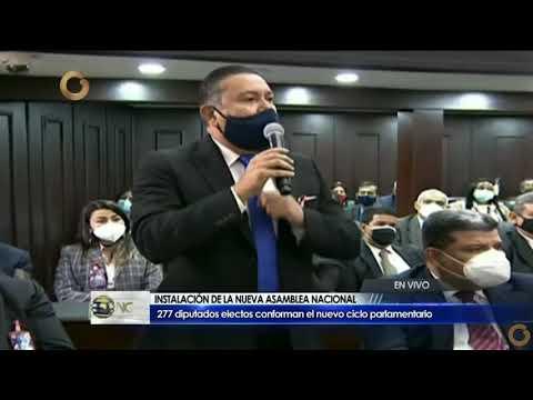Discurso del diputado Bertucci en Instalación de la Asamblea Nacional periodo 2021-2026