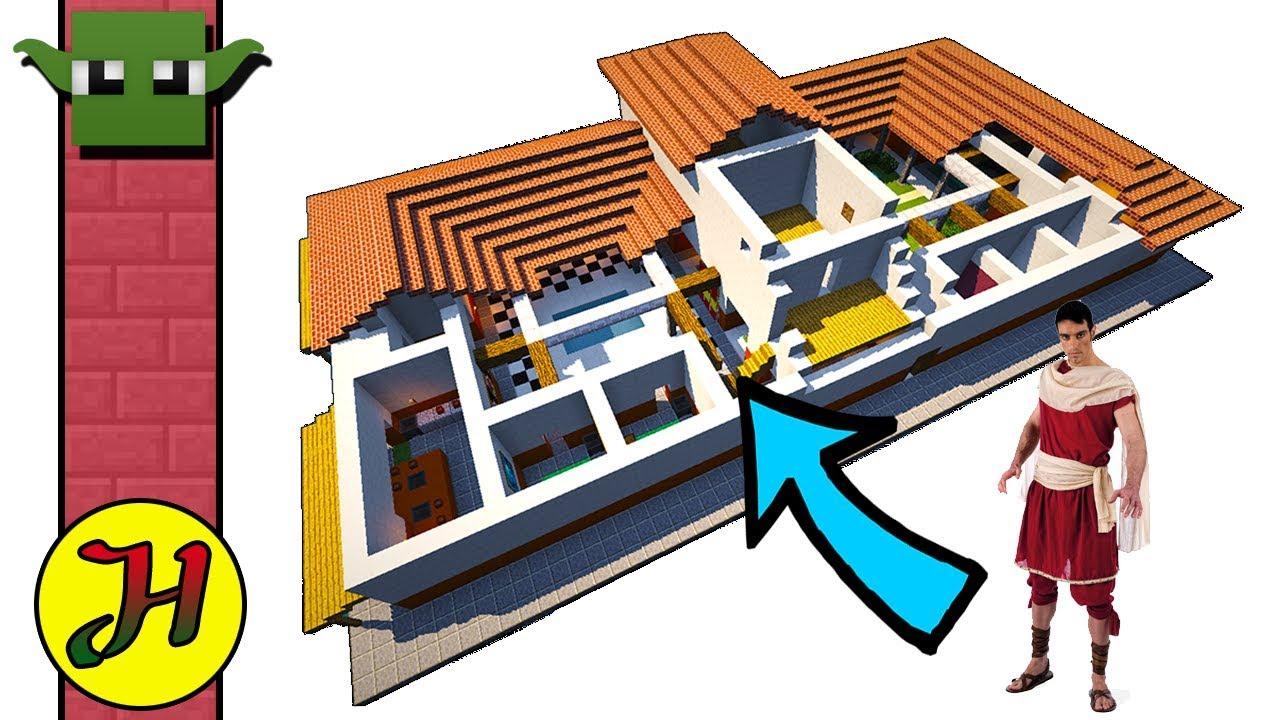 MINECRAFT ROMAN VILLA - (EASY Build 11)