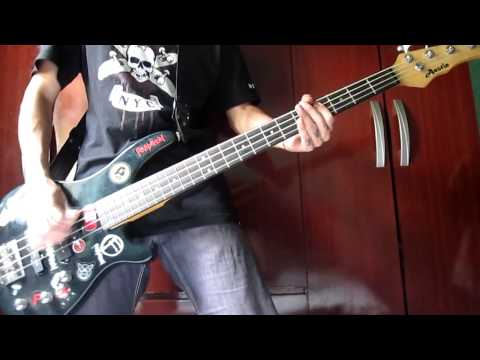 The Casualties - Punk Rock Love (Bass Cover)
