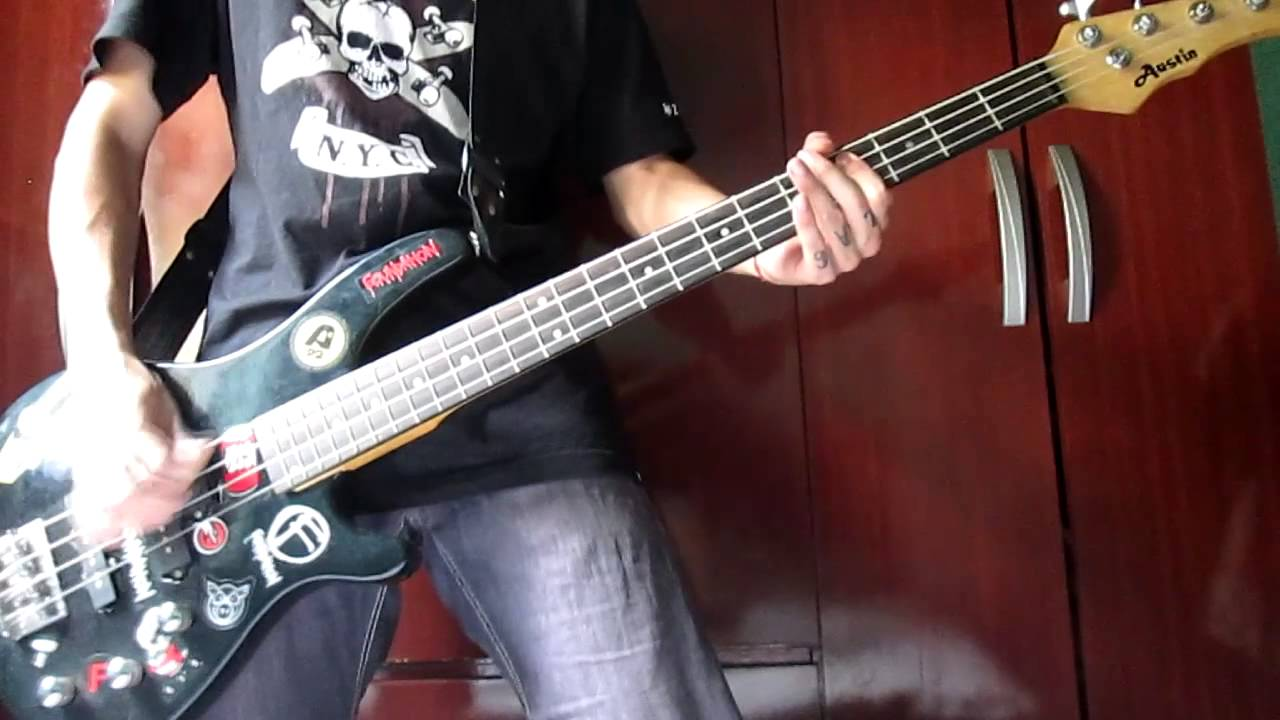 the casualties punk rock love bass cover youtube. Black Bedroom Furniture Sets. Home Design Ideas